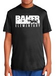 Baker Grade Level Performance T-Shirt (Color determined by grade)