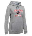 USC Under Armour WOMEN'S HUSTLE FLEECE HOODY (grey or black)